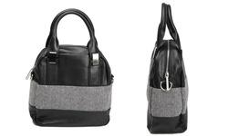 Oak & Rush Women's Walter Lancia Satchel - Black - Size: One