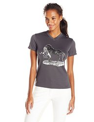"""Intrepid Women's Jude Too Horse """"Join Up"""" T-Shirt - Gray - Size: Small"""