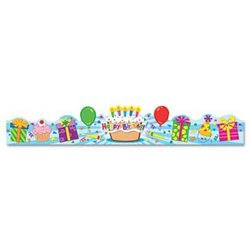 """Carson-Dellosa 4 x 23-1/2"""" Publishing Student Birthday Crown - Pack of 30"""