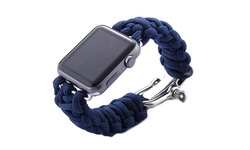 iPM Weave Apple Watch Band - Dark Blue - Size: 38mm
