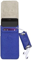 Camalen Camalen Arte iPhone 6 Plus Genuine Leather Case-Blue - Carrying Case - Retail Packaging - Blue