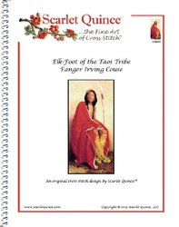Elk-Foot of the Taos Tribe Eanger Irving Couse Counted Cross Stitch Chart