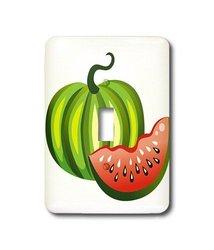 3DRose Watermelon Single Toggle Switch