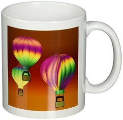 3dRose 11-oz. Ceramic Mug - Hot Air Balloons