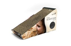 ZipKitty Cat Scratcher: Incline with Toy