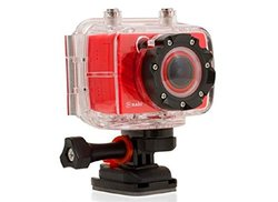 Nabi Look HD 5.0 MP Action Camera  1080p - Red