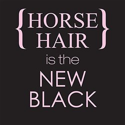 "Sound Equine Unisex Horse Hair is the New Black"" T-Shirt - Size: XL"