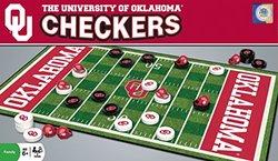 NCAA Oklahoma Sooners Checkers, Gray, Small