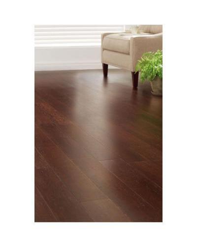 Hdc 38x5 18x36 Strand Woven Dark Mahogany Click Bamboo Flooring