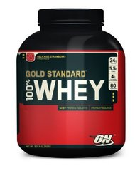 100% Whey Gold, Strawberry, 5.174 lb ( Multi-Pack)
