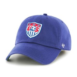 World Cup Soccer United States Franchise Fitted Hat - Royal - Size: XXL