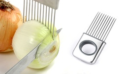Stainless Steel Onion Holder Vegetable Helper