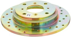 Power Stop Cross Drilled Performance Brake Rotor - Right