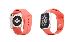 42mm Silicone Sport Replacement Band for Apple Watch - Bubble Pink
