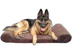 Go Pet Club Orthopedic Foam Bed: Brown-44