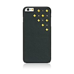 "Bling My Thing Storm Design Case for iPhone 6 4.7"" - Black/Antique Gold"