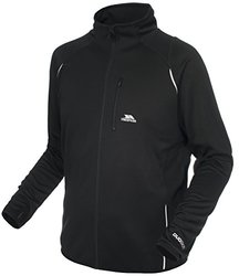 Trespass Men's Whiten Active Layer Top - Black - Size: L