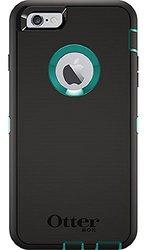 Otterbox Case: Defender Series-iPhone 6 Plus/6S Plus-Black/Teal