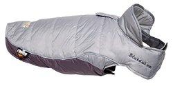 Helios Hurricane Waded Plush 3M Reflective Dog Coat Grey, X-Small
