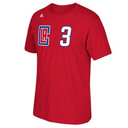 adidas NBA LA Clippers Chris Paul #3 Men's T-Shirt - Red - Size: 2XL