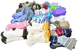 TeeHee Kids' Girl's Basic & Fashion Socks Combo A - Assorted - Size: 3-5Y