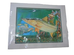 "Guy Harvey The Grove Mini Print - 11""X14"""