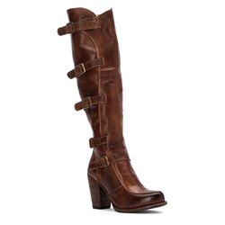 Bed Stu Women's Statute Motorcycle Boot - Teak Rustic - Size: 6.5
