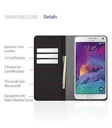 ARAREE Diamond Cube for Galaxy Note 4 - Wine