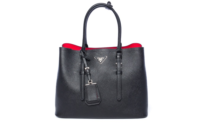 b0a1e90a977d51 ... italy prada saffiano nero leather handbags black 1bg820 b9f83 18e4e