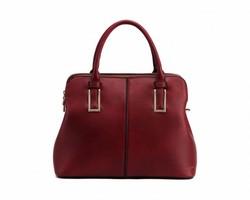 MKF Collection Women's Melaine Designer Satchel Bag - Red