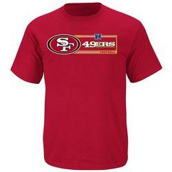 VF Men's NFL Victory VII Short Sleeve Tee - B Cardinal/H Gold - Size: S