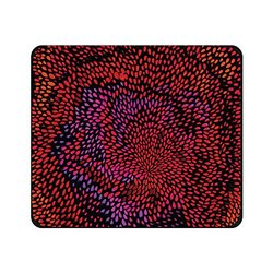 OTM Artist Prints Black Mouse Pad, Petals Warm