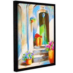 "ArtWall Susi Franco's Tuscan Morning Stillness Framed Canvas - 14""X18"""