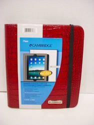Mead Cambridge iPad & iPad 2 Case - Red