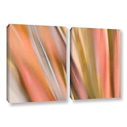 """Cora Niele's Abstract Barcode 2 Pc. Gallery Wrapped Canvas Set - 24 x 36"""""""