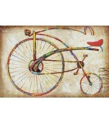 Yosemite Home Decor Bicycle Fun I Hand Painted Vehicle Abstract Artwork
