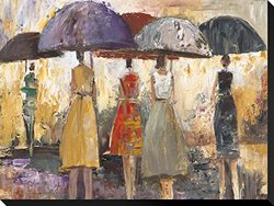 "Spring Showers 2 by Marc Taylor Stretched Canvas Print - 22"" H x 29"" W"
