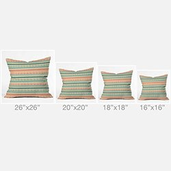 DENY Designs Gabriela Larios Prado Outdoor Throw Pillow, 18 x 18