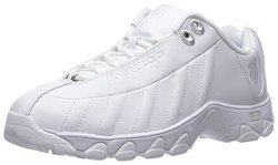 K-Swiss Women's ST329 CMF Training Shoe - White/Silver - Size: 6.5