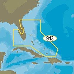 C-map Na-y943 Max-n+ Florida And The Bahamas NA-Y943