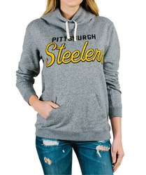 NFL Pittsburg Steelers Womens' Sunday Hoodie Medium Heather - Size: Medium