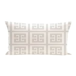E By Design Geometric Decorative Seat Cushion - Paloma - Size: One Size