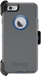 iPhone 6/6s Otterbox Defender Case: Gunmetal Grey & Royal Blue