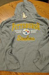 NFL Pittsburg Steelers Womens' Sunday Hoody - Heather - Size: XXL