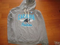 NFL Carolina Panthers Womens' Sunday Hoody - Heather - Size: Medium