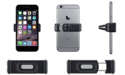 La Casa Milano Air-Vent Smartphone Swivel Grip - Black