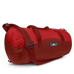 High Sierra Pack-N-Go 2 18L Duffel in a Bottle, Brick Red/Carmine/Red Line