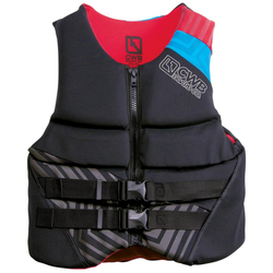 CWB Adult Delta CGA Neoprene Life Jacket - Black - Size: Medium