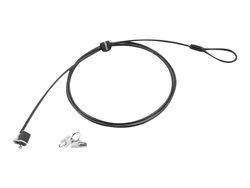 Lenovo 4.99' Zinc Alloy Galvanized Steel Security Cable Lock