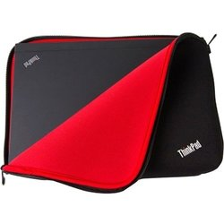 """Lenovo Carrying Case (Sleeve) for 15.6"""" Notebook - Black, Red"""